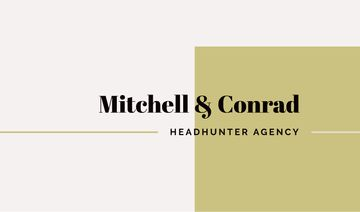 Headhunter Agency Ad in Brown