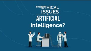 Ethical issues in Artificial Intelligence concept