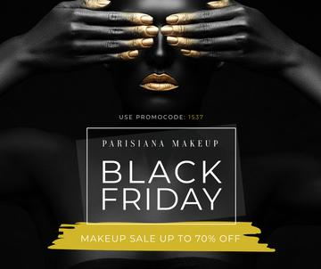 Makeup store Black Friday sale