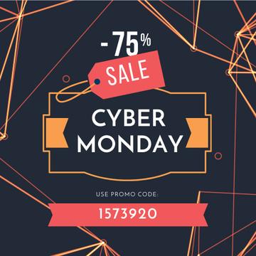 Cyber Monday Sale on digital pattern
