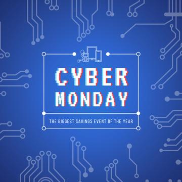 Cyber monday sale Ad