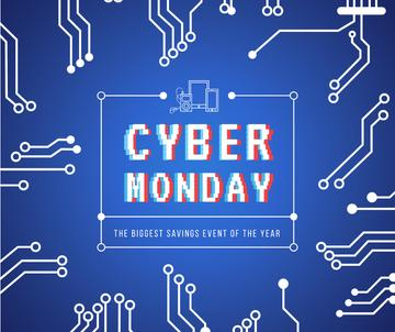 Cyber Monday sale Computer circuit board