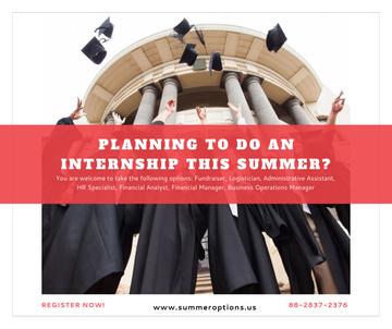 Summer internship Graduates with diplomas