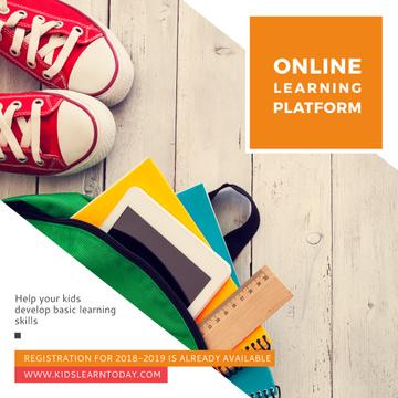 Online learning platform Ad
