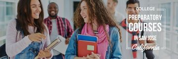 College preparatory courses poster