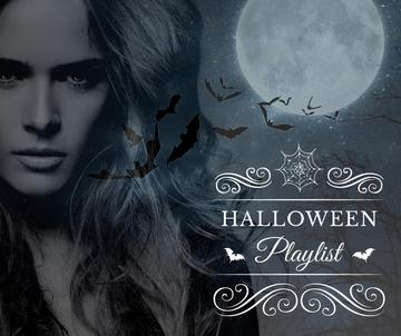 Halloween playlist with Scary Woman