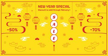 New Year Sale Chinese Style Attributes