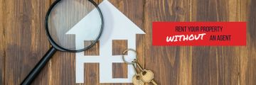 rent your property without an agent poster