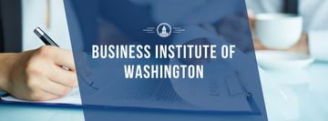 Business institute Invitation