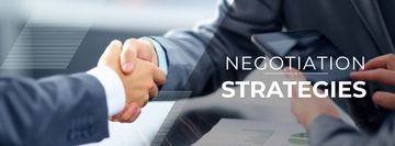 Negotiation Strategies with Business People shaking hands