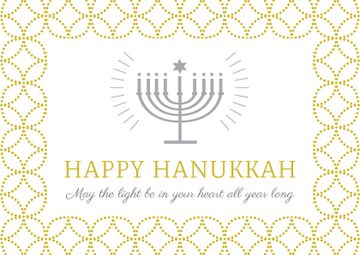 Invitation to Hanukkah celebration