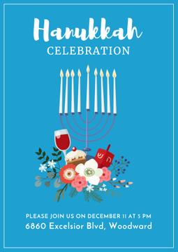 Invitation to Hanukkah celebration