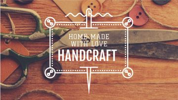 Handcrafted Goods Store Ad