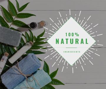 Natural Handmade Soap Shop Ad