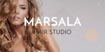 Marsala hair studio banner