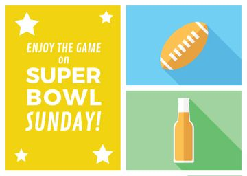 Super bowl sport banner