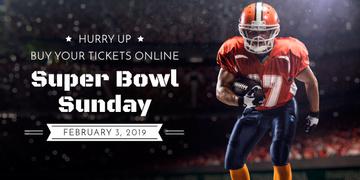 Super bowl sport online banner