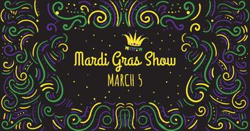 Mardi Gras carnival Announcement
