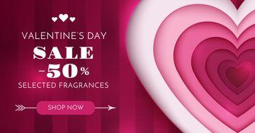 Valentine's Day Heart in Pink