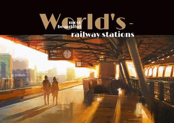 Most beautiful railway stations banner