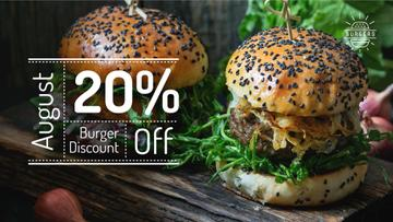 Delicious Burgers Special Offer