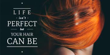 Hair beauty quote