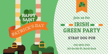 Green Party Annoucement on St.Patricks Day
