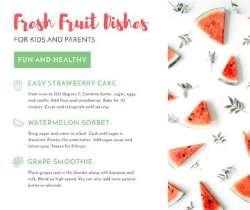 Fresh fruit dishes