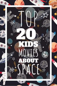 Kids playing in space