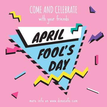 April Fool's day invitation