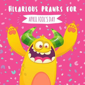 April fool's day monster