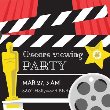 Annual Academy Awards viewing party