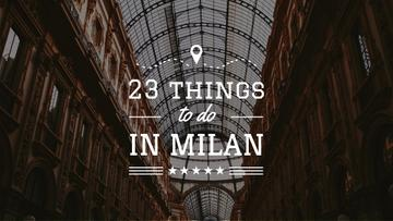 Milan Trip Inspiration Shopping Mall Gallery