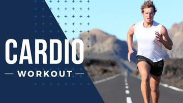 Cardio Workout Man Running Outdoors
