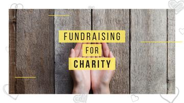 Charity Fundraising Open Human Palms