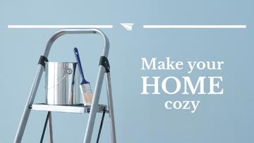 Tools for Home Renovation in Blue