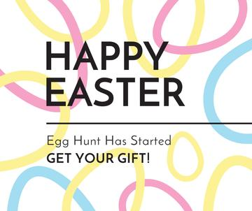 Egg hunt on Easter Day
