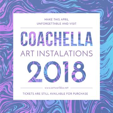 Coachella festival art installation