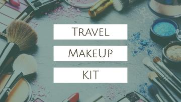 Travel Makeup Kit Cosmetics Set