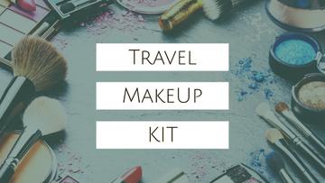Travel Makeup Kit Cosmetics Set