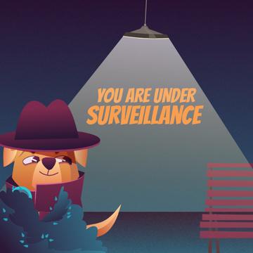 Surveillance Services with Cute Dog Detective