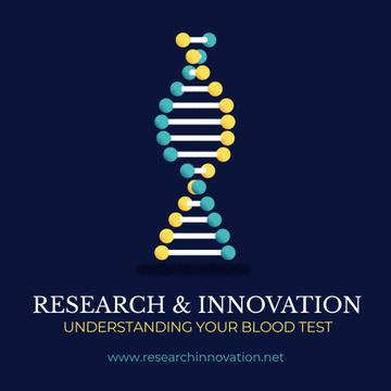Test Laboratory Ad DNA Molecule Model