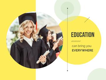 Education can bring you everywhere
