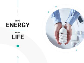 Save energy Save life