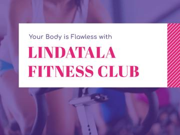 Fitness club Ad