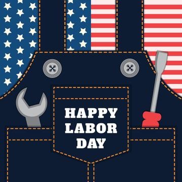 Happy Labor Day Jumpsuit with Tools