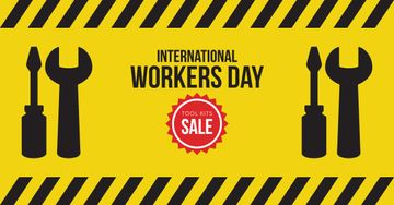 Sale on Happy International Workers Day