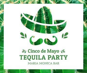 Cinco de Mayo tequila Party announcement