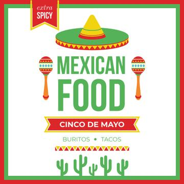 Mexican food on Cinco de Mayo holiday