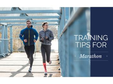 Training tips for marathon
